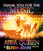 A tribute to ABBA, Bee Gees & Queen